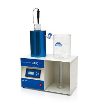 Distilation moisture tester